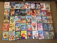 Kids / children's DVD x45 Bundle