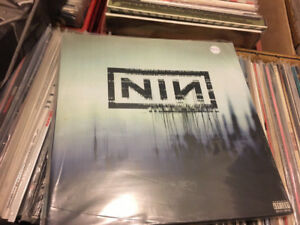 Original Nine Inch Nails NIN Trent Reznor records lp vinyl