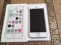 iPhone 5s White/gold good condition