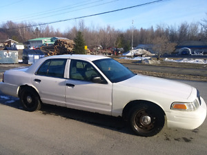 Crown victoria 2008 police pack