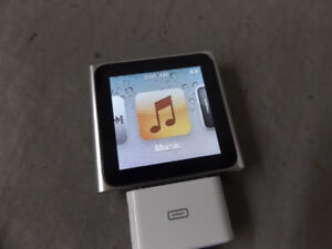 Silver Apple iPod Nano 6th Generation (Used, Working)