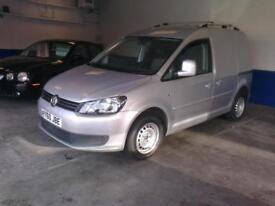 no vat.2010 ( 60 reg ) Volkswagen Caddy 1.6TDI 102PS C20 low miles . met silver