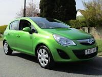 2011 Vauxhall Corsa 1.3 CDTi ecoFLEX EXCLUSIVE 5DR * £30 TAX 60MPG * AIR CON...