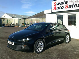 2010 VOLKSWAGEN SIROCCO GT TSI 2L ONLY 89,165 FULL SERVICE HISTORY