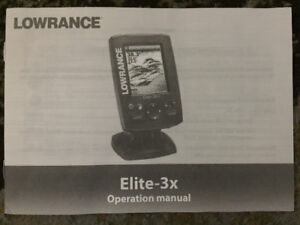 Lowrance 2 Transducers Portable Sonar Fish Finder