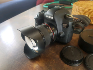 Canon 6d with Rokinon 14mm 2.8 lens