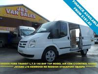 2012 12 FORD TRANSIT 2.2 260 LIMITED LR 140 BHP 1 OWNER VAN IN GOOD CLEAN CONDTI