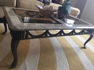 Ornate Coffee Table and Sofa Table