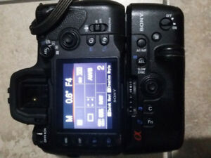 Sony a850 Full frame DSLR
