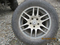 Great deal on Winter Tires on Aluminum wheels