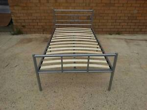 Quality Strong Metal & Wood Slat Base Frame. All sizes Available Bayswater Bayswater Area Preview