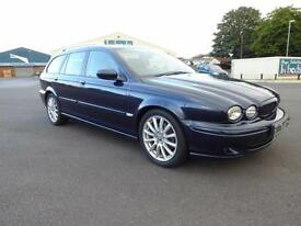 2005 JAGUAR X-TYPE 2.0D DIESEL SPORT ESTATE FULL SERVICE HISTORY MOT JUNE 2017