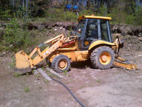 1995 JCB 214 Turbo 4x4 Backhoe** LOW HOURS AND VERY CLEAN**