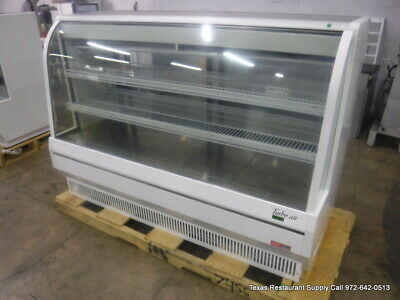 Turbo Air Tcdd-72h-w-n 72 Refrigerated Curved Display Deli Case 115 Volts