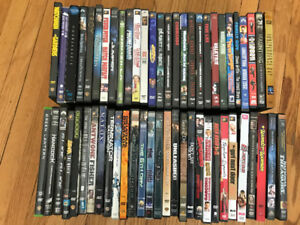 DVD/Blu-Ray Collection - 61 Titles