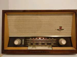 Nordmende Elektra C Shortwave AM FM Tube Radio