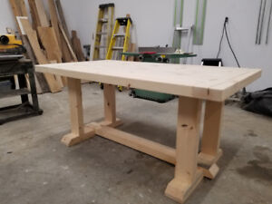 Reclaimed Farmhouse Table/ Harvest Table Open to Offers