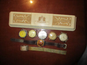 Antique watches parts&case