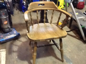 Captains Chair, real wood $50