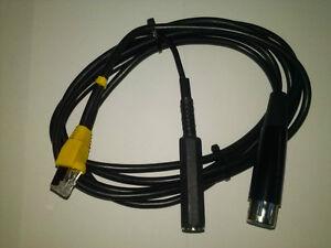 Microphone Modular Cables for Yaesu Icom Kenwood Ham Radio