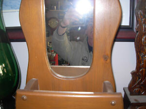 Vintage Mirror with Letterholder Slot Cambridge Kitchener Area image 2
