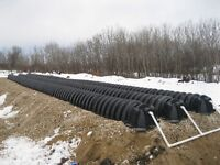 SEPTIC TANKS AND FIELDS