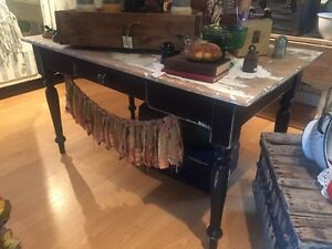 Antique Harvest Table
