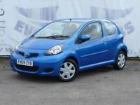 2009 TOYOTA AYGO 1.0 BLUE VVT-I 3 DOOR 1 OWNER 14 INCH ALLOY WHEELS SERVICE HIST