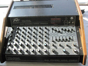 Vintage Peavey XR-700 Dual Mixing Console Amp Amplifier