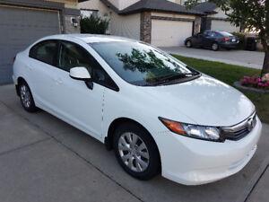 2012 Honda Civic LX 4 door - low km