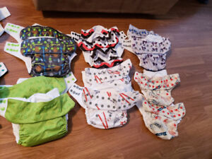 Diaper lot and accessories