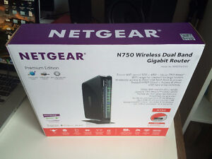 NETGEAR N750 Wireless Dual Band Router