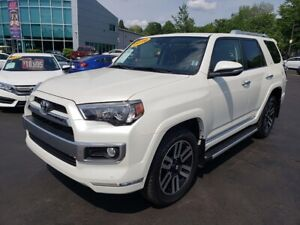 2016 Toyota 4Runner Limited / Leather / Nav