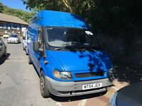 2005 Ford Transit LWB Jumbo high roof van low miles px welcome