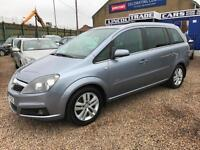 VAUXHALL ZAFIRA1.9CDTi 6 SPEED 125K FSH 10 STAMPS VERY VERY CLEAN CAM BELTED