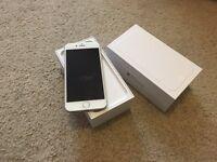 Apple iPhone 6 sliver 16GB (O2,Giffgaff,Tesco)