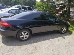 2005 HONDA ACCORD COUPE EX FULLY LOADED LEATHER