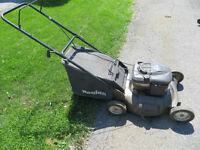 Lawn Mower Polan 5.5 hp with bag.