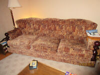 COUCH AND MATCHING CHAIR set