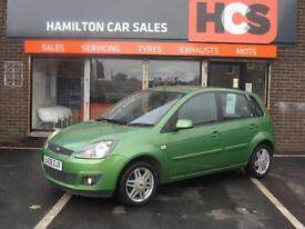 Ford Fiesta 1.4 Ghia - Full Leather, 1 YEAR WARRANTY, MOT & AA COVER INCLUDED