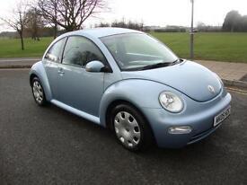 Volkswagen Beetle 1.6, 2005, 60000 Miles, Full Servcie History, Met Blue,