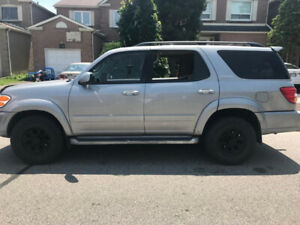 2002 Toyota Sequoia Limited, 4.7L V8 4WD,332000KM