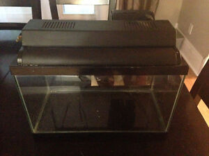 5 gal fish tank with pump
