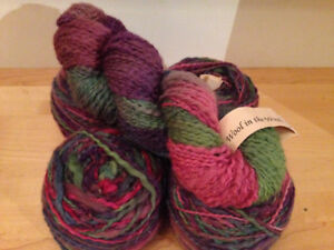 Wool In The Woods Yarn (merino, mohair & poly), 5 skns, 1000 yds