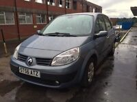 Bargain Renault scenic, long MOT ready to go