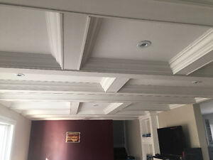 Crown Moulding Coffered Ceiling Wainscoting Baseboard Oakville / Halton Region Toronto (GTA) image 9