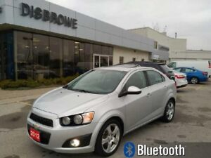 2012 Chevrolet Sonic LT  Remote Start, Sunroof, New Brakes