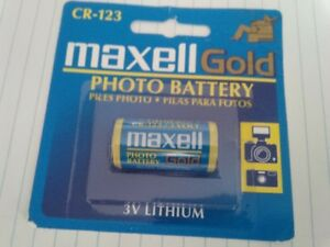 Maxelll Gold photo battery