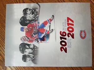 Montreal Canadiens Season Tickets 321BB Whites
