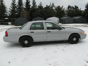 2011 Ford Crown Victoria Police Package Sedan